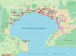 Карта черноморского побережья