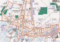 Карта Краснодара и